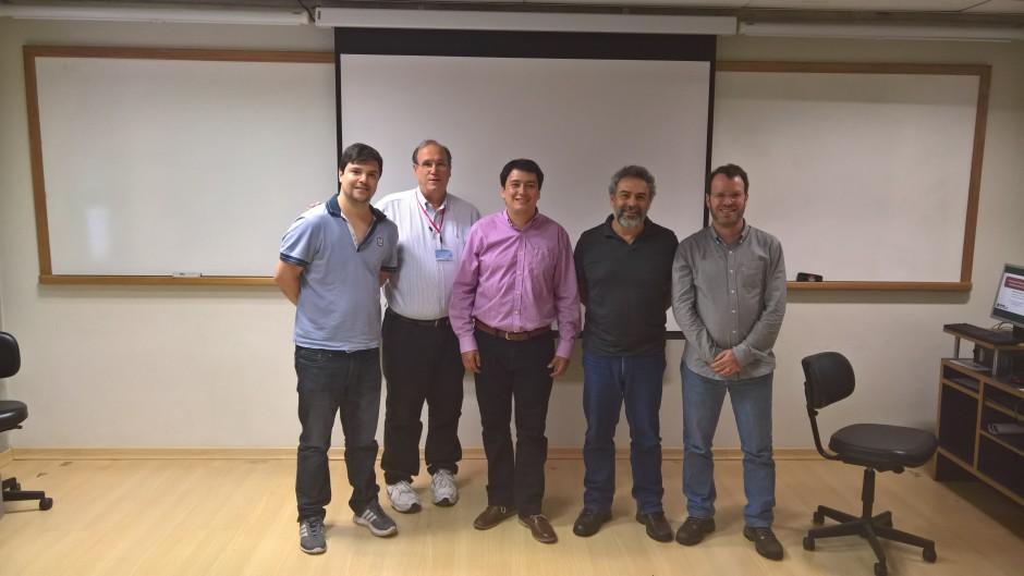 PhD's Thesis Project Defense,  David Julián Saldaña Santacruz